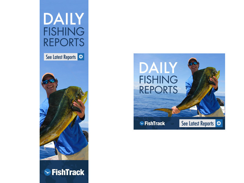 Fishtrack Daily Fishing Reports Ads