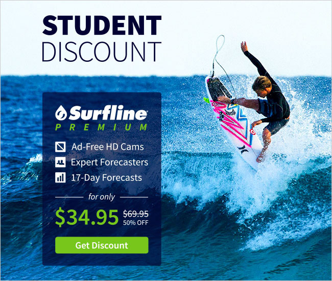 Surfline Student Discount Ads