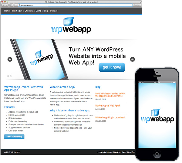 WP Webapp Plugin